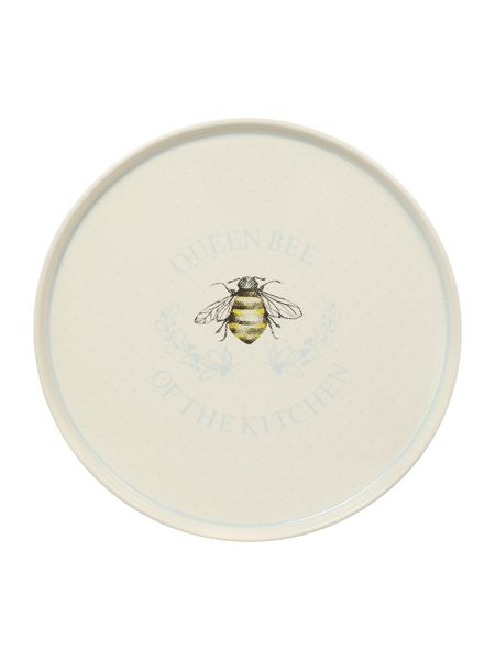 Linea Queen Bee cake stand with dome