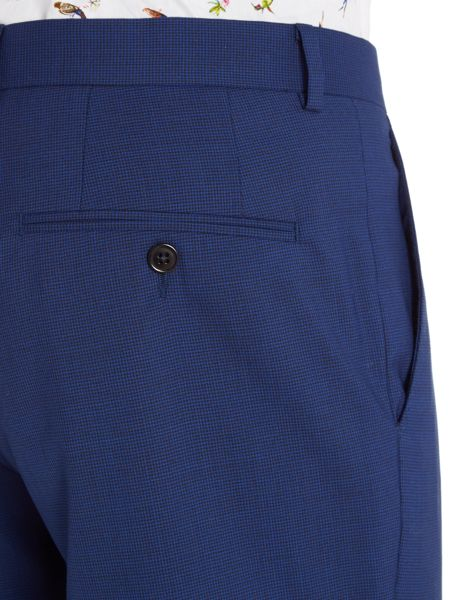 New & Lingwood Barberry Dogtooth Check Suit Trouser