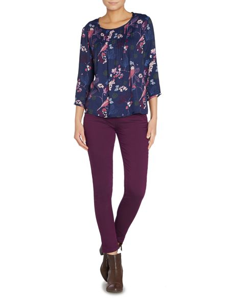 LILY & ME Olivia pintuck top