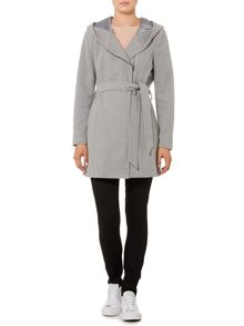 Vero Moda Long Sleeved Assymetric Zip Tie Waist Coat