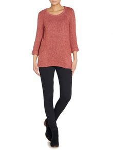 LILY & ME Ellen easy fleck knitted jumper