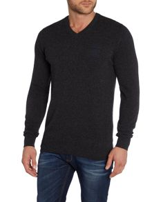 Barbour Land Rover rugby wigan v neck