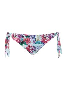 Marie Meili Hyacinth side tie bikini brief