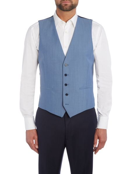 Kenneth Cole Ralph Slim fit Suit Waistcoat