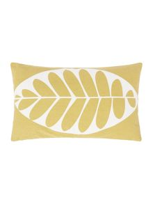 Dickins & Jones Beech leaf print cushion