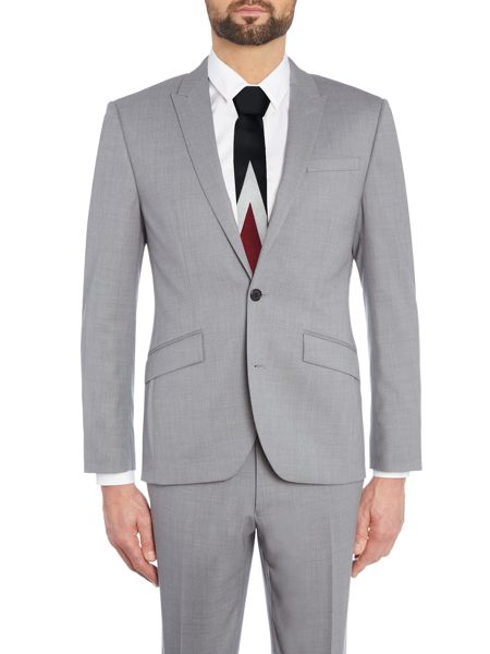 Kenneth Cole Davenport SB2 Textued Suit Jacket