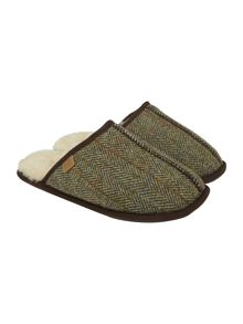 Russell Genuine Harris Tweed mule slipper