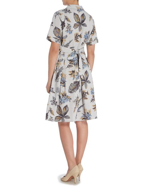 BRAINTREE Printed shirt dress