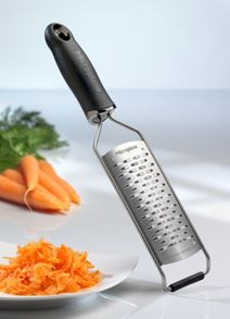 Medium ribbon grater black