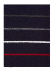 Barbour Land rover rugger stripe scarf