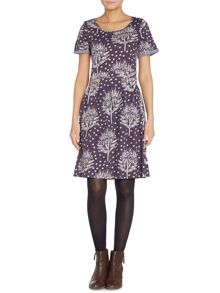 BRAINTREE Printed floaty dress