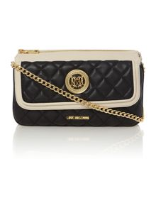 Love Moschino Superquilt mono multi-functional shoulder bag
