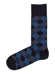 Hugo Boss Argyle print socks