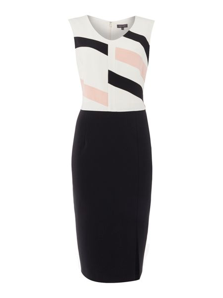 Pied a Terre Workwear Geo Dress