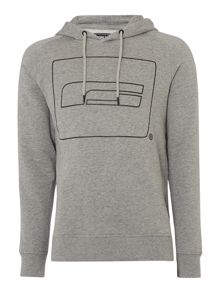 Jack & Jones Logo Hooded Sweatshirt