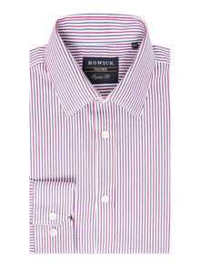 Howick Tailored Snipe Bold Stripe Shirt