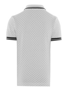 Fred Perry Boys Polka dot short sleeved polo