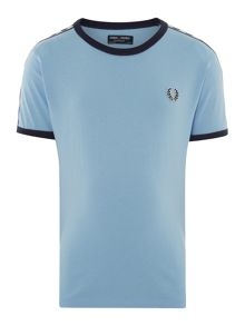 Fred Perry Boys Shoulder tape logo tee