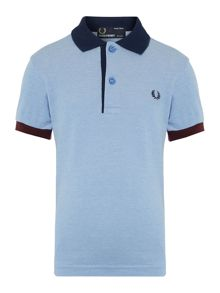Fred Perry Boys Contrast collar and cuff polo