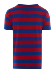 Fred Perry Boys Block stripe tee