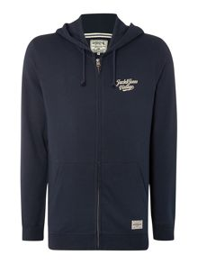Jack & Jones Hertiage Back Printed Hooded Sweatshirt