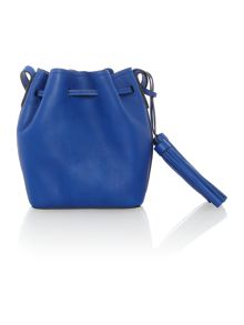 Polo Ralph Lauren Blue mini bucket bag