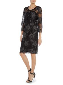 Shubette Two piece lace dress and matching jacket