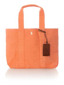 Polo Ralph Lauren Orange medium tote