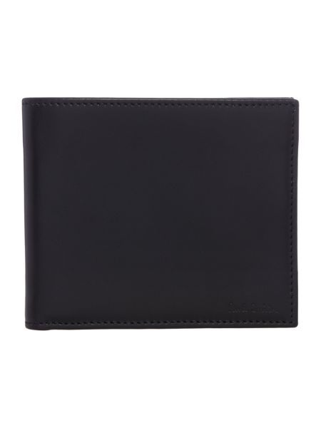 Paul Smith London Embossed interior striped billfold wallet