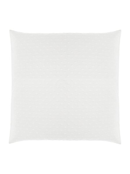 Luxury Hotel Collection Jacquard spot sham, white