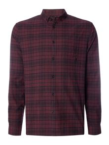 Label Lab Ice Marl Check Shirt