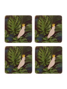 Amazon cork coaster set of 4