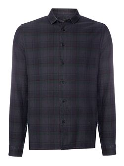 Reynolds Overdyed Check Long Sleeve Shirt