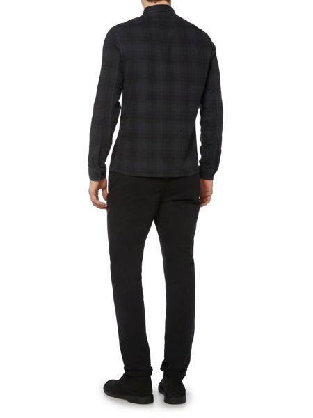 Label Lab Reynolds Overdyed Check Long Sleeve Shirt