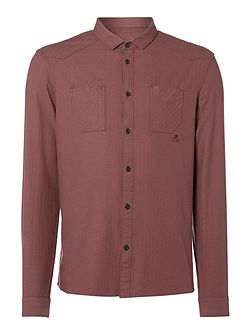 Desert Herringbone Long-Sleeve Shirt