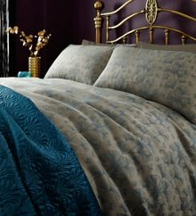 Biba Ayra jacquard pillowcase pair