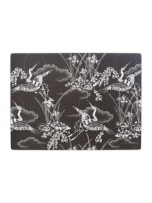 Heron cork placemats set of 4
