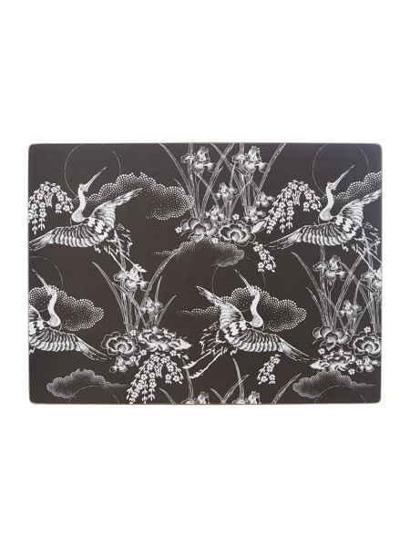 Living by Christiane Lemieux Heron cork placemats set of 4