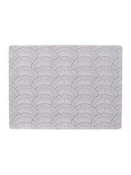 Living by Christiane Lemieux Shibori cork placemats set of 4