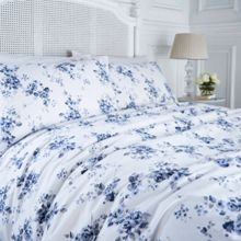 Shabby Chic Blue somerset floral duvet cover
