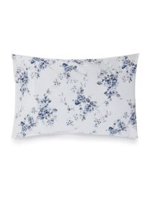 Shabby Chic Blue somerset floral pillowcase