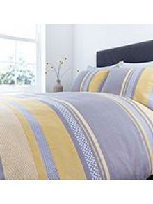 Living by Christiane Lemieux Citrine chevron pillowcase pair