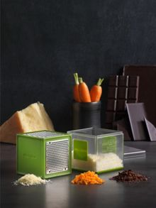 Microplane Cube grater green