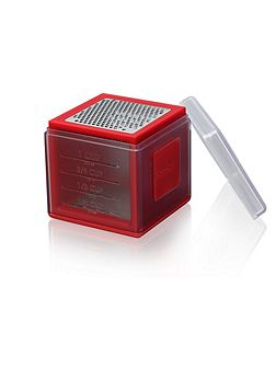 Cube grater red