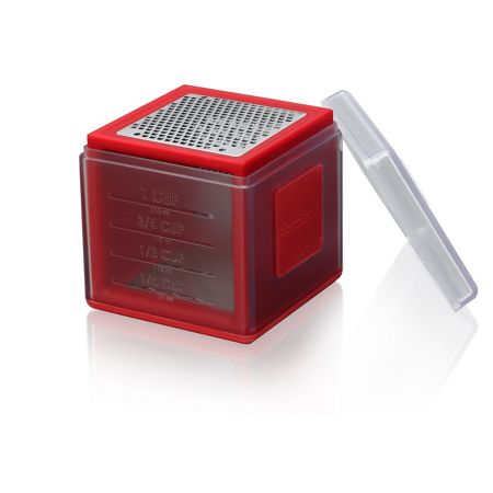 Microplane Cube grater red