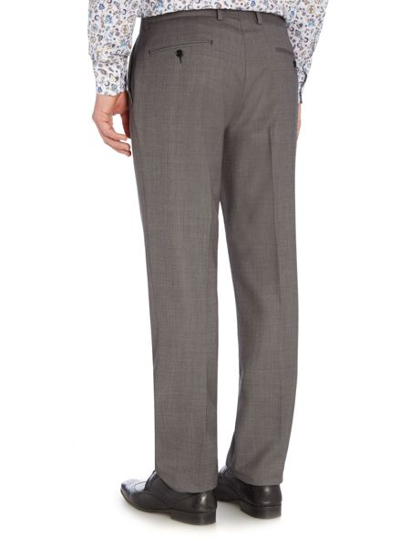 New & Lingwood Barnes Birdseye Suit Trousers