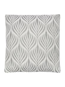 Linea Seed Pod Cushion, Grey