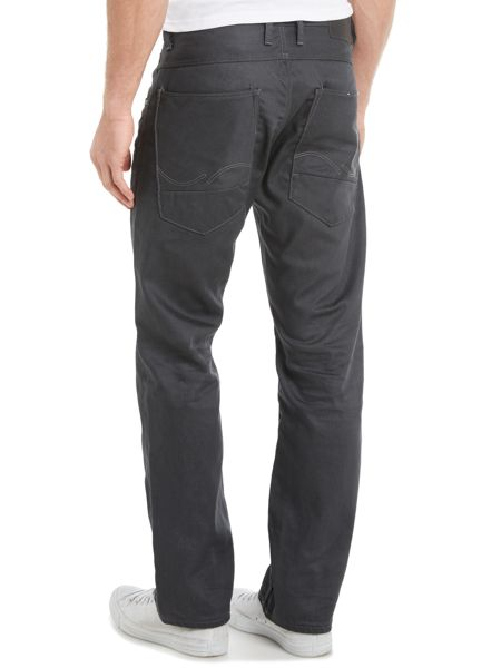 Jack & Jones Loose Fit Coated Jeans