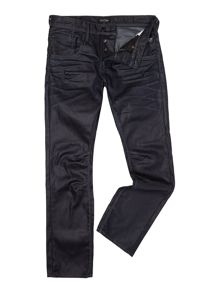 Boxy Powell Coated Loose Fit Jeans