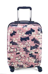 Cherry blossom dog 4 wheel hard cabin case